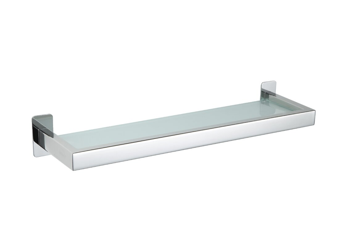 Cortesi Home Rikke Bathroom Vanity Shower Shelf & Reviews | Wayfair