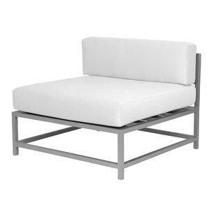 Brayden Studio Ashlee Armless Chair with ..