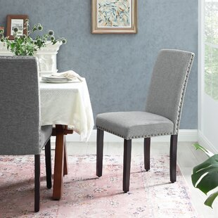 Avelines Upholstered Parsons Chair Set of 2 by Winston Porter
