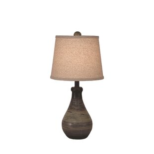 Yarber Small Eggplant Clay 16 Table Lamp