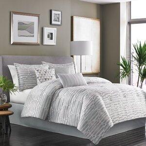 Kallan 7 Piece Reversible Comforter Set