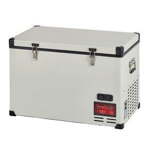 2.8 cu. ft. Portable Solar AC/DC Powered Chest Freezer