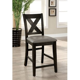 Bermudez Upholstered Dining Chair (Set of 2) Millwood Pines