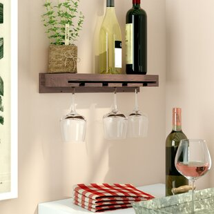 Erithon Wall Mounted Wine Glass Rack by A..