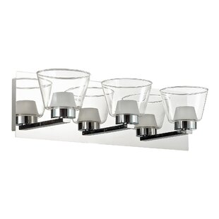 Latitude Run Garnett 3-Light LED Vanity Light