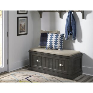 Hair Upholstered Storage Bench