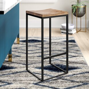 Norsworthy Bar & Counter Stool (Set of 2) Mercury Row