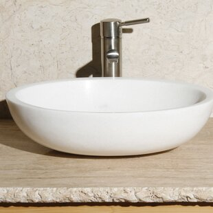 Price comparison Stone Oval Vessel Bathroom Sink By Allstone Group