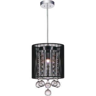 CWI Lighting 1-Light Drum Pendant