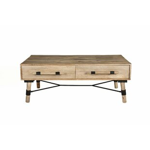 Hammack Linked Coffee Table with storage
