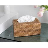 Kana Rattan Long Tissue Box Cover