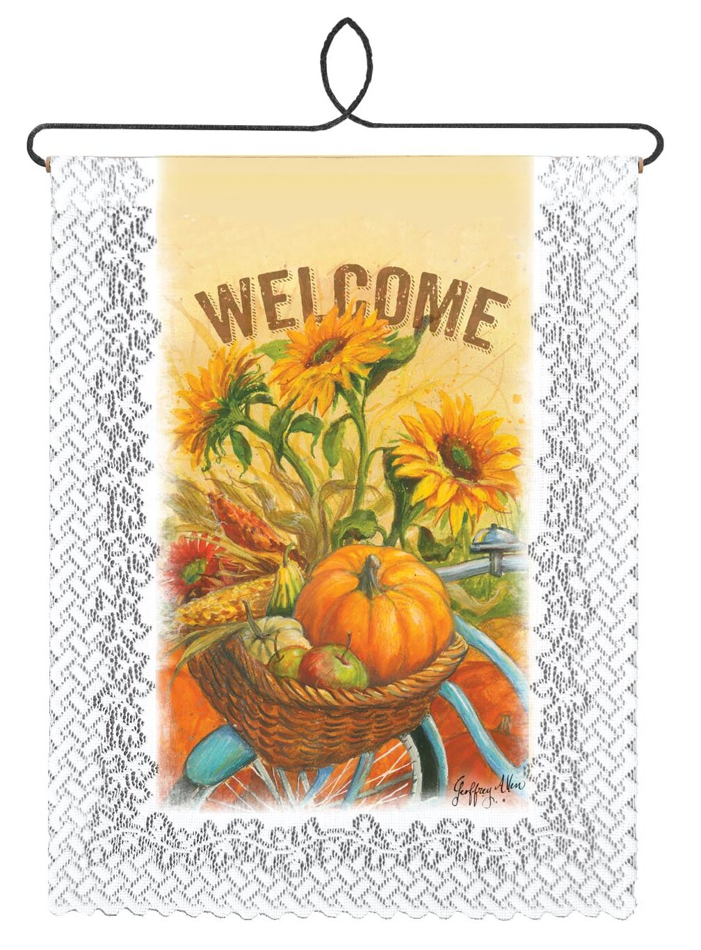 Fine Welcome Wall Decor Plaques Crest - Wall Art Collections ...