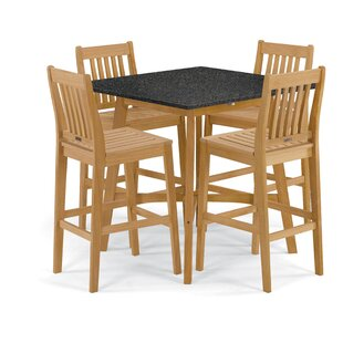 Breakwater Bay Delvalle 5 Piece Dining Set
