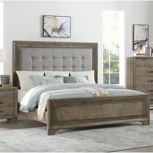 Carlos Queen Upholstered Panel Bed