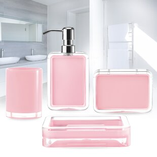 Exceptionnel Brown U0026 Pink Bathroom Accessories Youu0027ll Love In 2019 | Wayfair