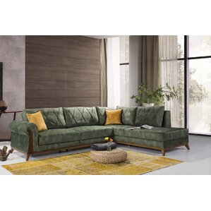 Lambert Sleeper Sectional by Perla Furniture by Corrigan Studio