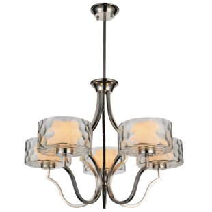 CWI Lighting Lorri 5-Light Shaded Chandelier