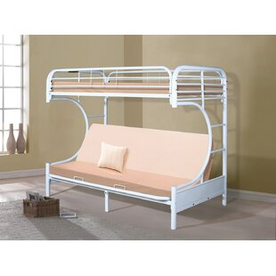 Irizarry Twin Futon Bunk Bed by Zoomie Kids Bargain
