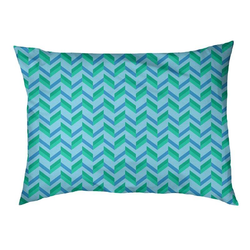 Tucker Murphy Pet Byrge Chevrons Cat Designer Pillow Wayfair