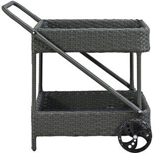 Brayden Studio Tripp Bar Serving Cart