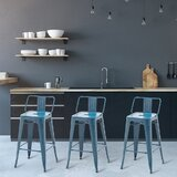 Cervin Bar & Counter Stool (Set of 4) by Williston Forge