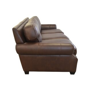 Middleton Genuine Top Grain Leather Sofa by Westland and Birch