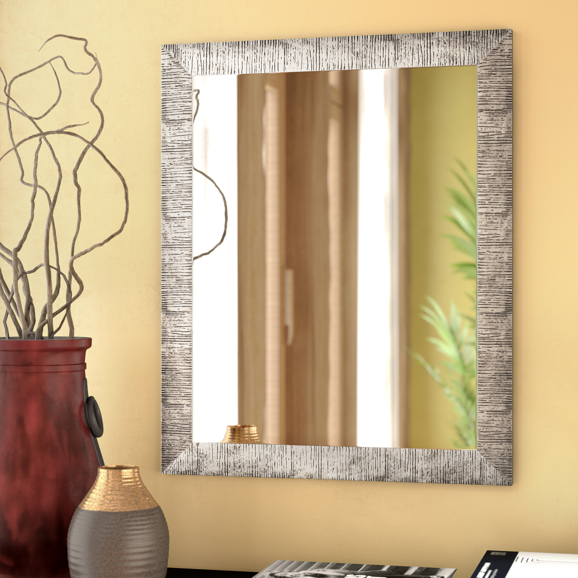 World Menagerie Skeete Wall Mirror & Reviews | Wayfair