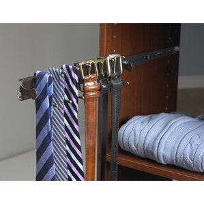SuiteSymphony Closet System Accessory for Ties and Belts by ClosetMaid
