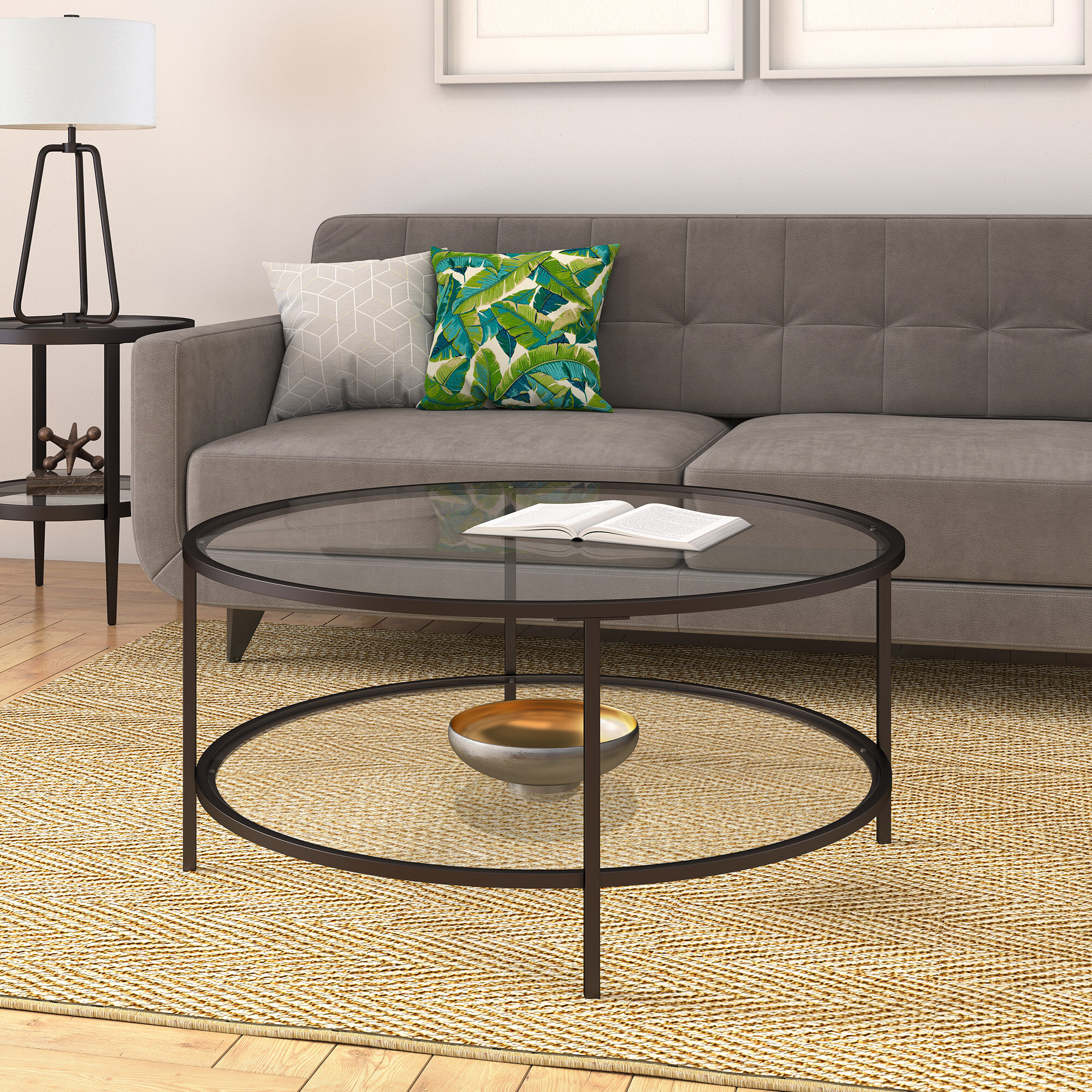 Bronze Glass Coffee Tables You Ll Love In 2021 Wayfair