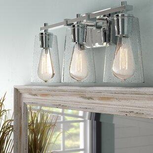 Beachcrest Home Muniz 3-Light Vanity Light