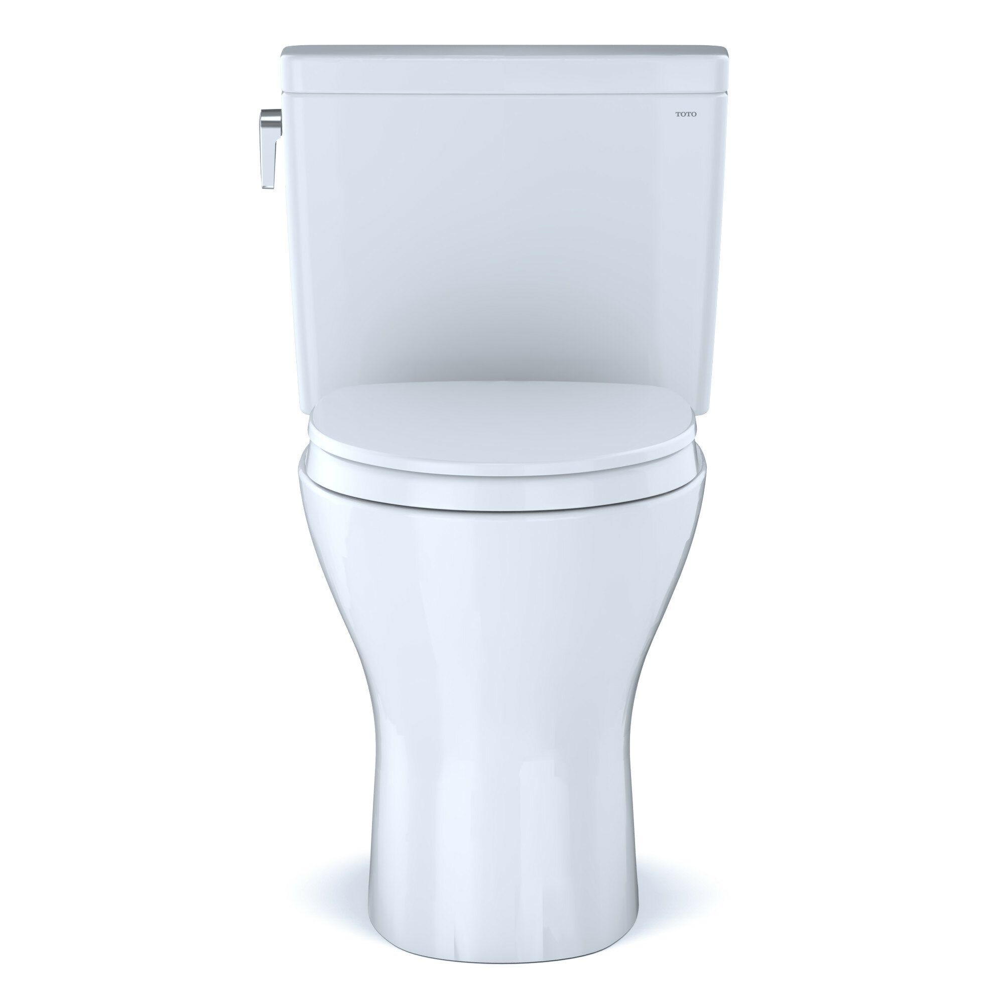 Toto Drake Two Piece Elongated Dual Flush 1 6 And 0 8 Gpf Universal Height Dynamax Tornado Flush Toilet With Cefiontet Wax Ring And Softclose Seat Washlet Ready Reviews Perigold