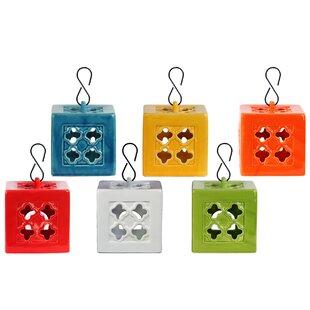 Urban Trends Ceramic Lantern (Set of 6)