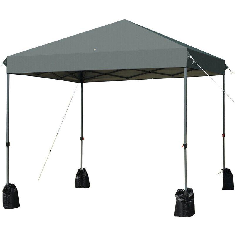 Maincraft 8 Ft W X 8 Ft D Steel Pop Up Party Tent Wayfair