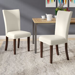 Hargrave Upholstered Dining Chair (Set of 2) Latitude Run