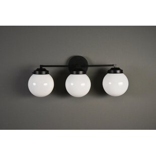 Zaiden 3-Light Armed Sconce by George Oliver