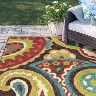 Margarita Brown Indoor/Outdoor Area Rug