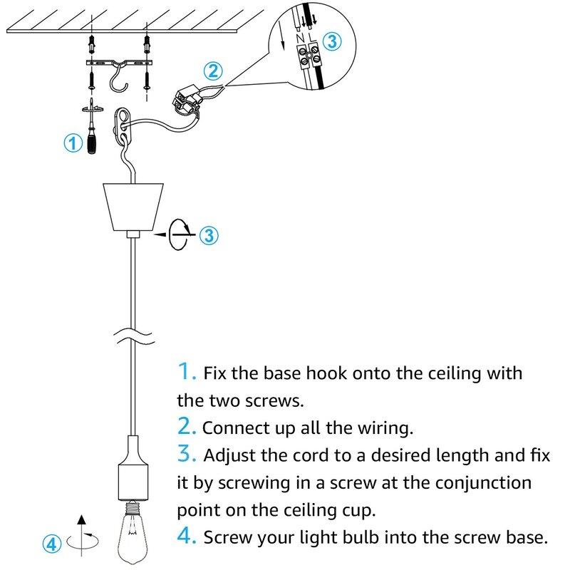 stepp 1-light led lantern pendant
