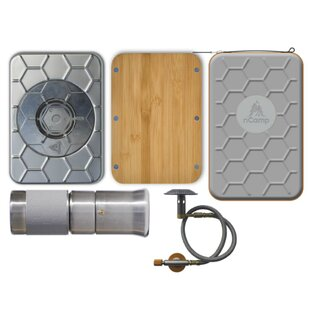 Kitchen To Go 1-Burner Propane And Wood Outdoor Stove By NCamp
