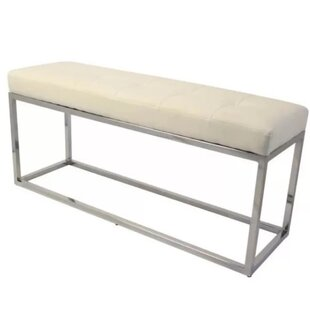 Didmarton Faux Leather Bench