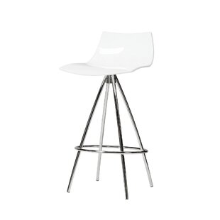 Fleckenstein Acrylic 25 Bar Stool Orren Ellis