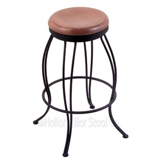 Exley 30 Swivel Bar Stool Winston Porter