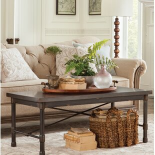 Selena Industrial Coffee Table Trent Austin Design