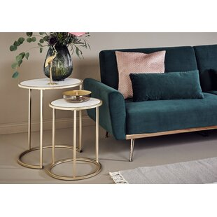 Sol 2 Piece Coffee Table Set By Jahnke