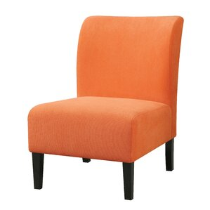 Reedsport Slipper Chair. Reedsport Slipper Chair. Orange