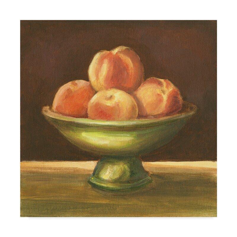 Winston Porter Rustic Fruit Bowl I Acrylic Painting Print On Wrapped Canvas Wayfair