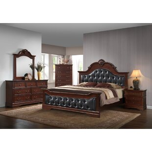 Haskell Panel Configurable 4 Piece Bedroom Set