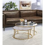 Phineas Frame 2 Nesting Tables Coffee Table by Everly Quinn
