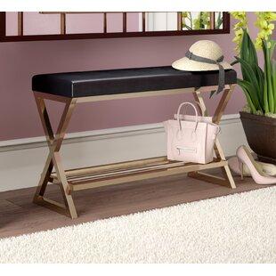 Willa Arlo Interiors Karsyn Faux Leather Storage Bench