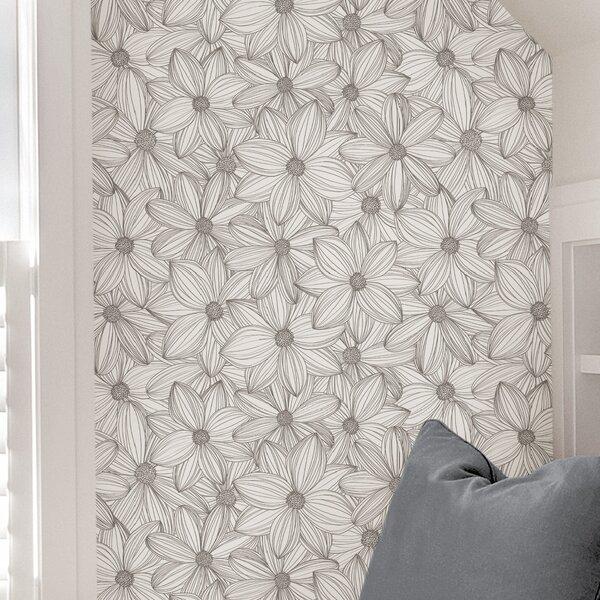 Scott Living 18 L X 20 5 W Peel And Stick Wallpaper Roll Reviews Wayfair
