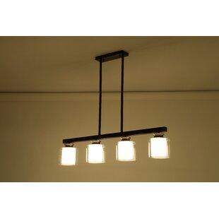 Mercer41 Betsy 4-Light Kitchen Island Pendant